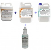 Kit Xtraction 5L / Alvfresh 5L / Floral 1L / Clean By Peroxy 5L