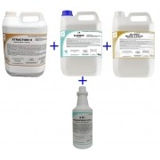 Kit Xtraction 5L / Alvfresh 5L / Floral 1L / Sse Carpet 5L