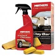 Mothers Clay Bar System California Gold Removedor de Contaminações e Restaurador