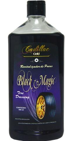 BLACK MAGIC - LIMPA PNEU - 500 ML - CADILLAC