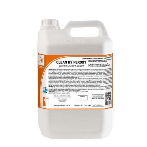 Clean by Peroxy - 5 Litros - Spartan  - HIDRORIO