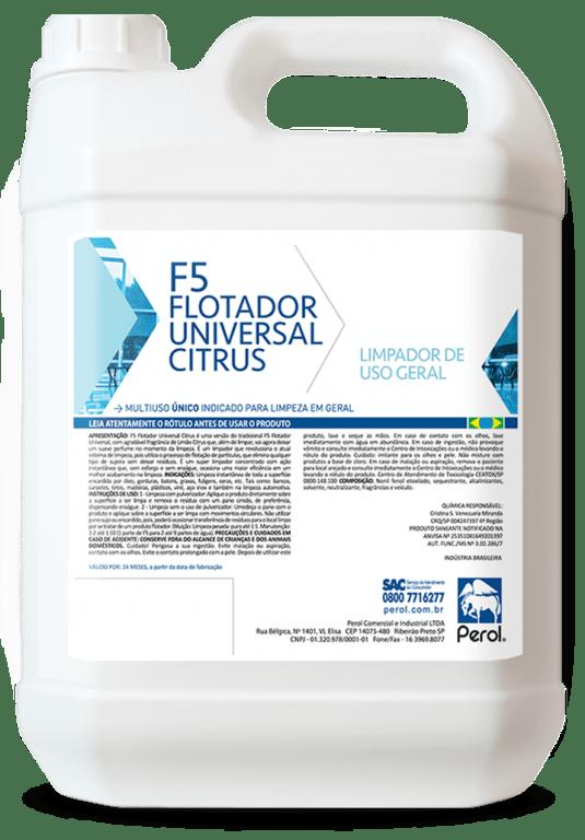 F5 Flotador Universal Citrus 5 Litro - Perol
