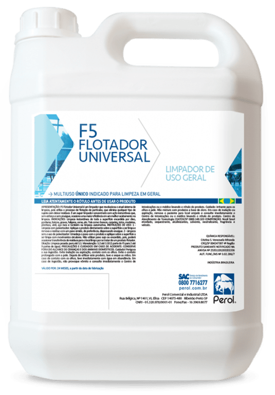 F5 Flotador Universal 5 Litro - Perol  - HIDRORIO