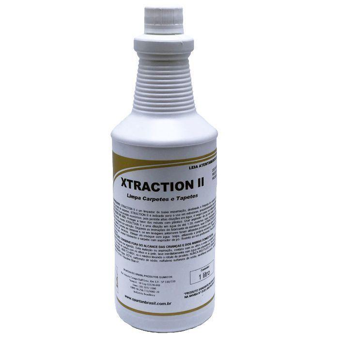 XTRACTION II - Limpador de Carpete e Estofados - Spartan - 1L  - HIDRORIO