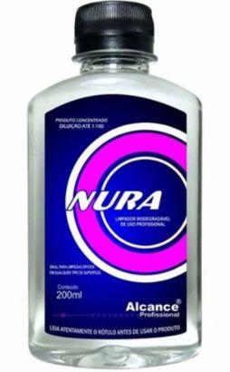 Nura Limpador Biodegradável Super Concentrado Alcance (200ml)  - HIDRORIO