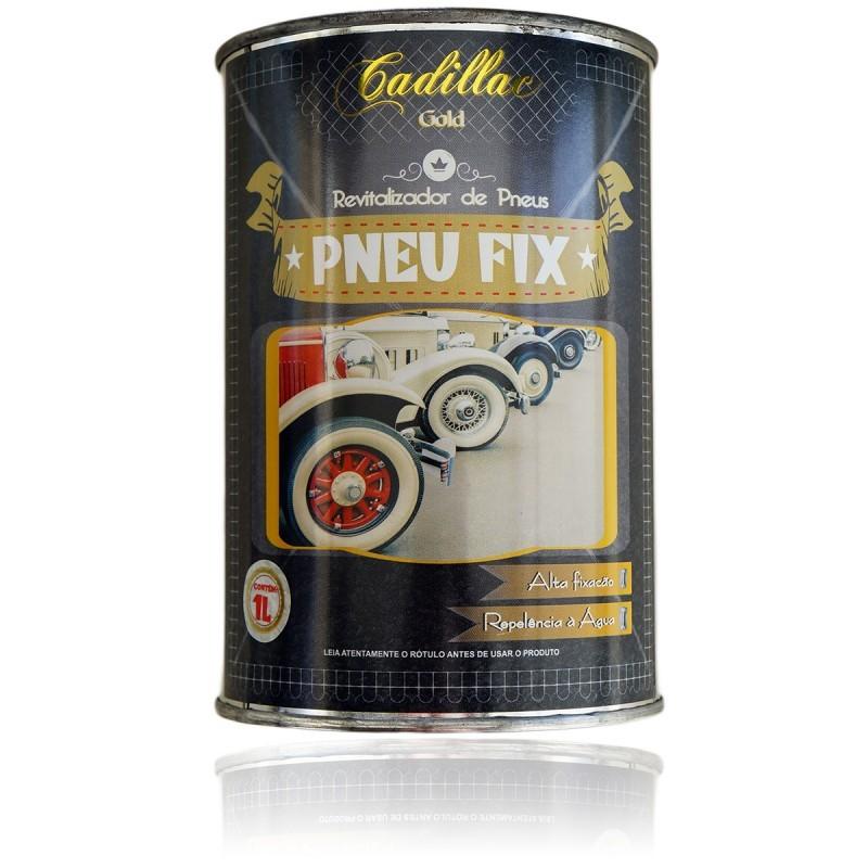 Revitalizador De Pneus 1 Litro - Pneu Fix - Cadillac  - HIDRORIO