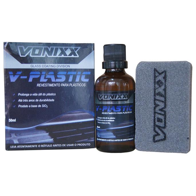 V-Plastic - 50ml - Renovador e Protetor de Plásticos  - HIDRORIO
