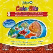 RAÇÃO TETRA COLORBITS - Sachê 15 gr