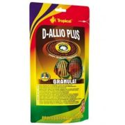 RAÇÃO TROPICAL D-ALLIO PLUS GRANULAT - Doypack 80 gr