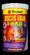 RAÇÃO TROPICAL DISCUS GRAN D-50 PLUS - Pote 110 gr