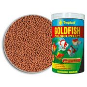 RAÇÃO TROPICAL GOLDFISH COLOUR PELLET - Pote 75 gr + bônus 20% = 90 gr