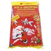 RAÇÃO TROPICAL KOI&GOLDFISH COLOUR STICKS - Bag 90 gr