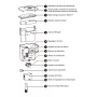 FILTRO EXTERNO HANG ON SEACHEM TIDAL 75 - 110 VOLTS