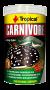 RAÇÃO TROPICAL CARNIVORE - Pote 600 gr