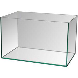 Aquário retangular em vidro - Capacidade 15 litros