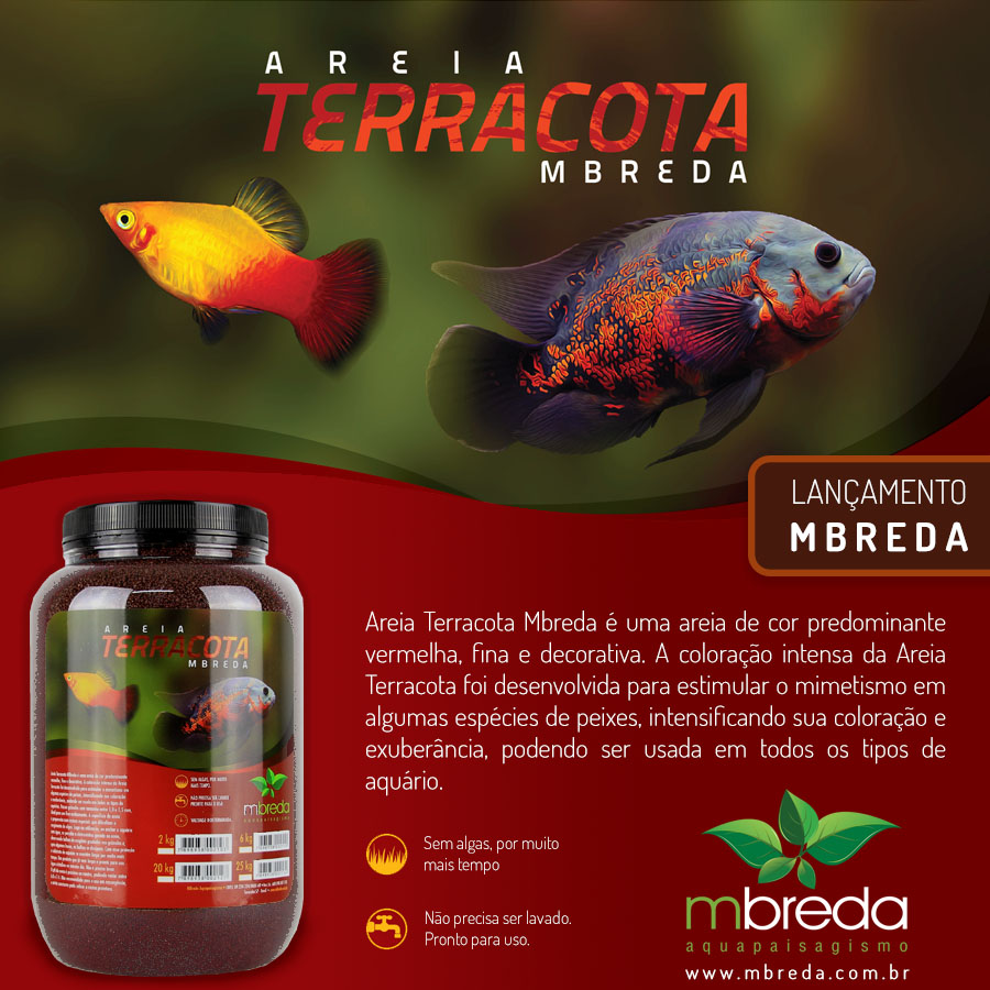 AREIA TERRACOTA MBREDA - 20 Kg