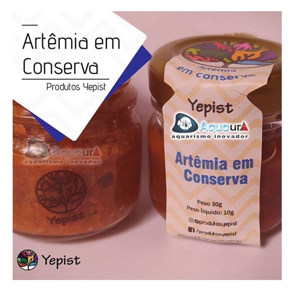 ARTÊMIA EM CONSERVA YEPIST - 30 gr