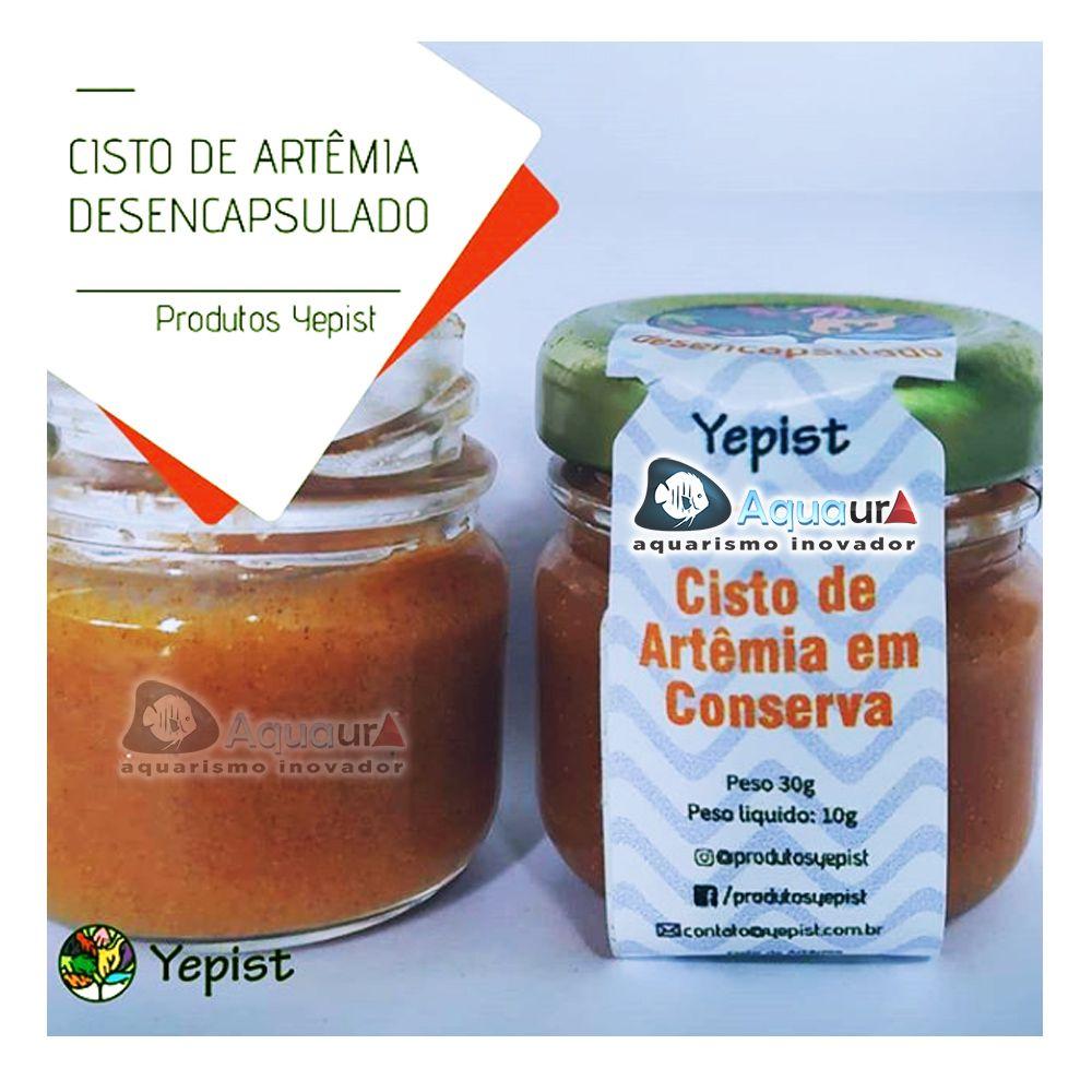 CISTO DE ARTÊMIA EM CONSERVA YEPIST - 30 gr