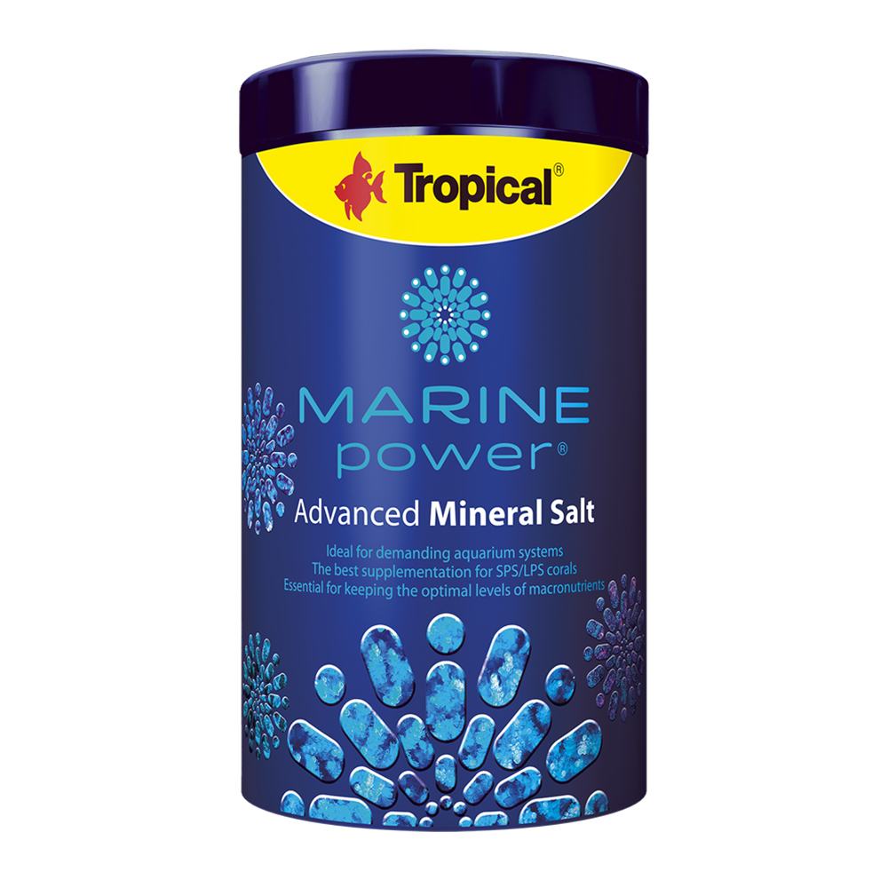 COMPLEMENTO ESSENCIAL MARINE POWER ADVANCED MINERAL SALT - 500 gr