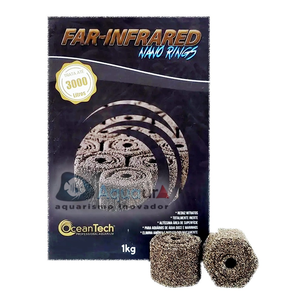 FAR-INFRARED NANO RINGS OCEAN TECH - 1KG