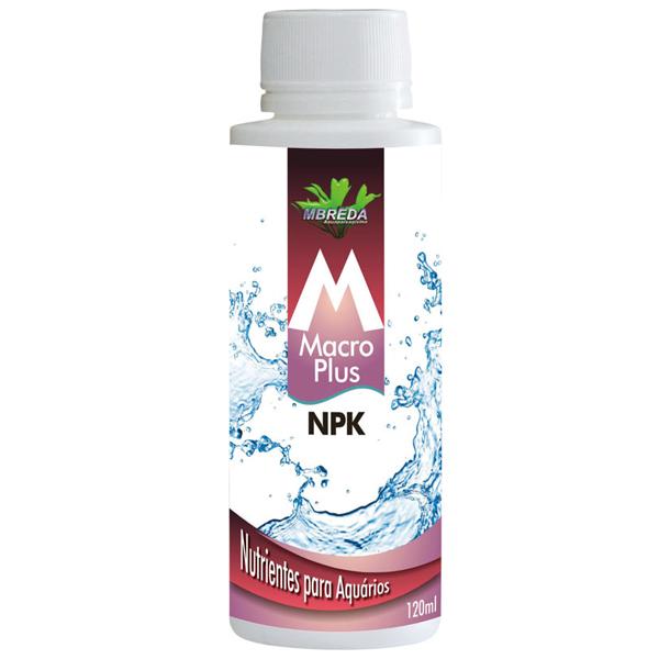 FERTILIZANTE LÍQUIDO MACROPLUS NPK MBreda - 120 ml