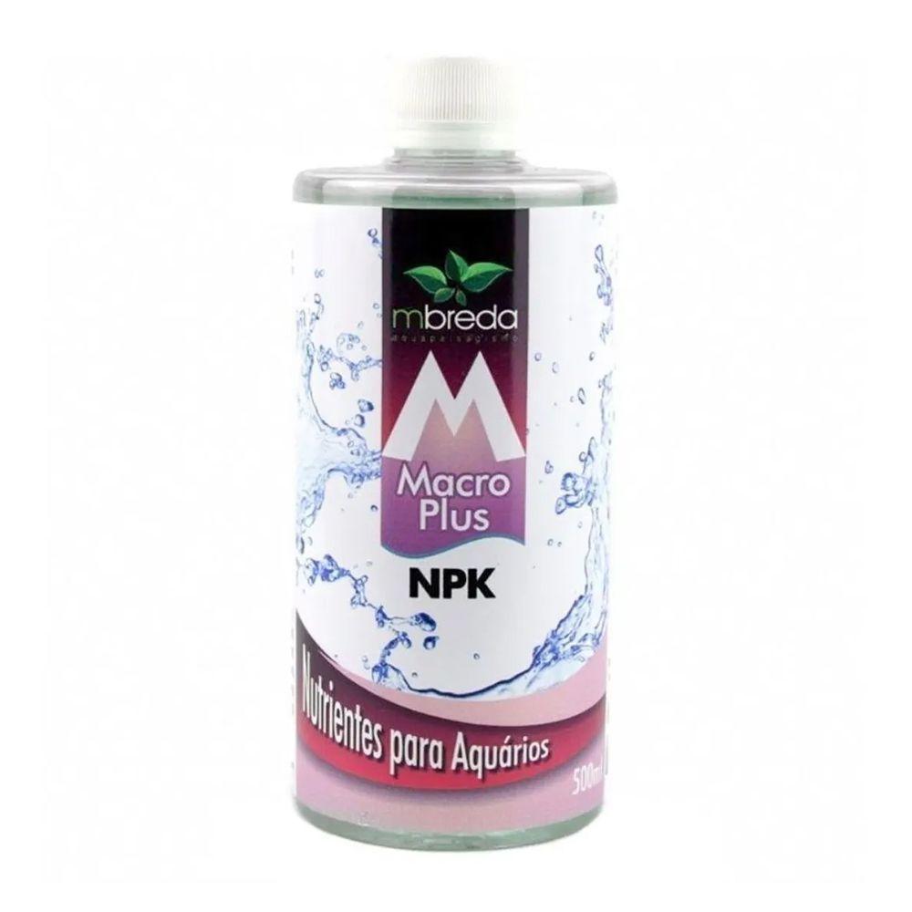 FERTILIZANTE LÍQUIDO MACROPLUS NPK MBREDA - 500 ml