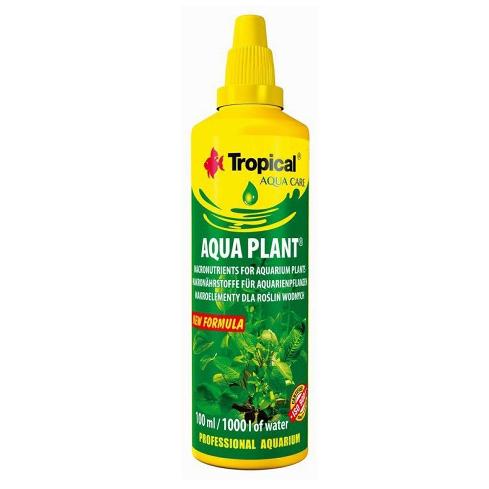 FERTILIZANTE TROPICAL AQUA PLANT - 100ml