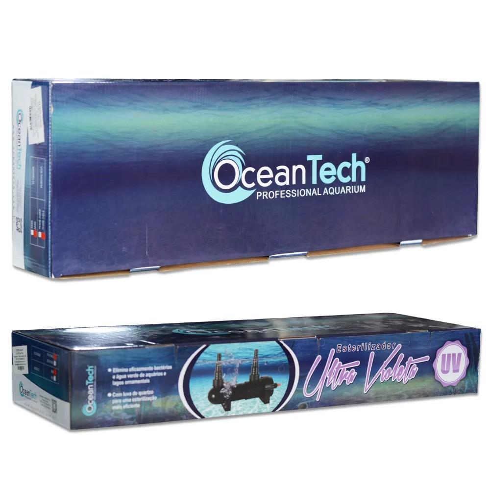 FILTRO ESTERILIZADOR UV OCEAN TECH 13W - 110 Volts