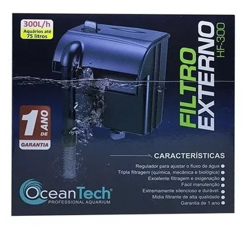 FILTRO EXTERNO HANG ON OCEAN TECH HF-300 - 110 VOLTS