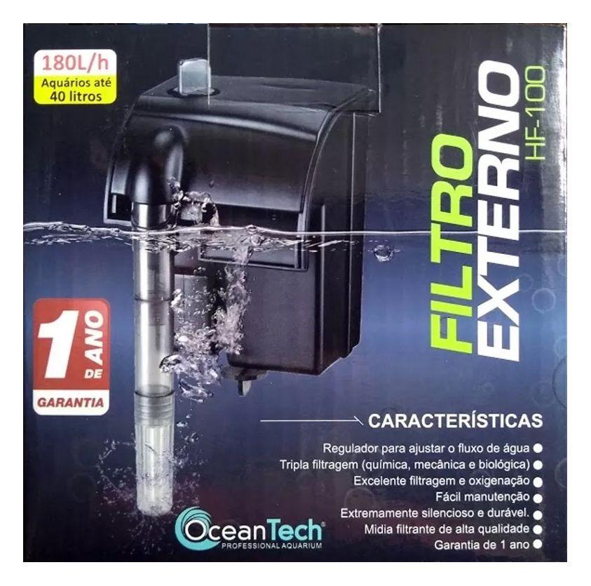 FILTRO EXTERNO HANG ON OCEAN TECH HF-100 - 110 VOLTS