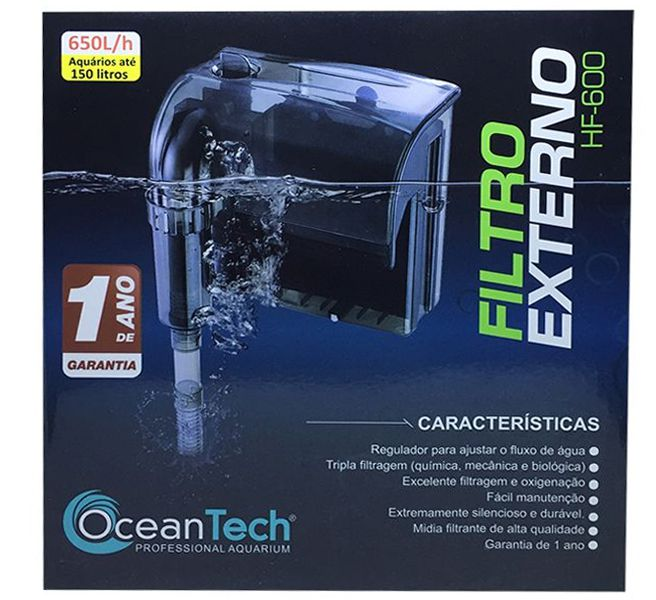 FILTRO EXTERNO HANG ON OCEAN TECH HF-600 - 110 VOLTS