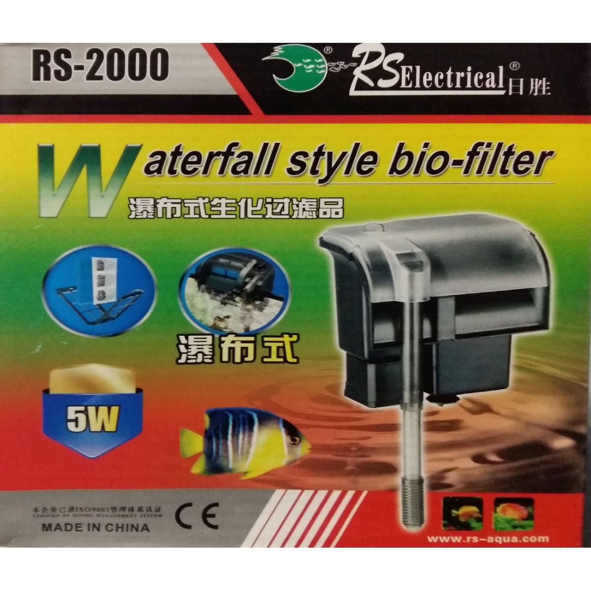 FILTRO EXTERNO HANG ON RS-2000 - RS AQUA - 110 Volts