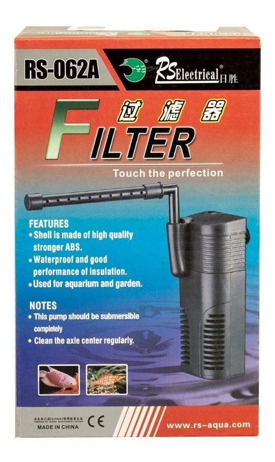 FILTRO INTERNO RS-062A (300L/H) - 110 VOLTS