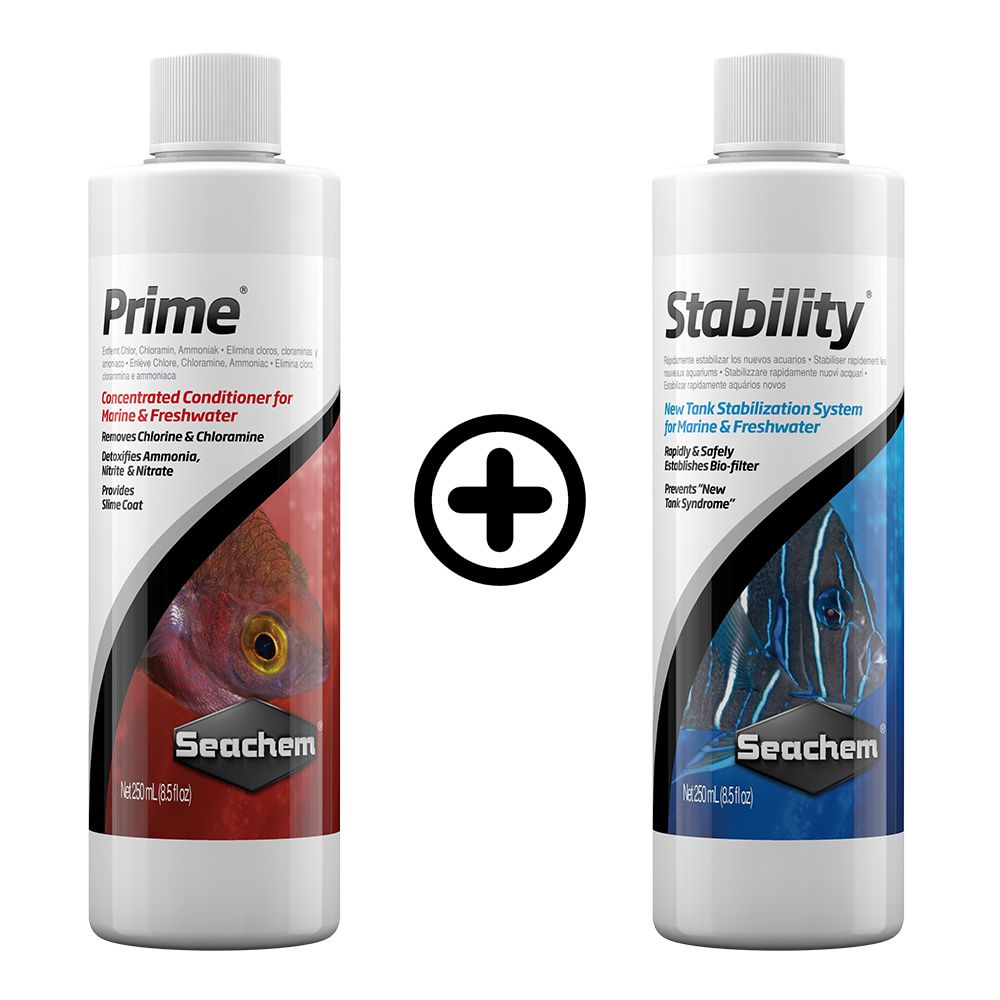 KIT SEACHEM PRIME 250 ml + STABILITY 250 ml