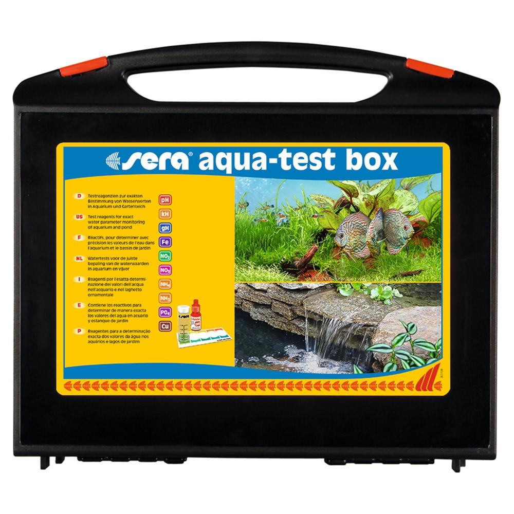 MALETA DE TESTES PARA ÁGUA DOCE - SERA AQUA-TEST BOX