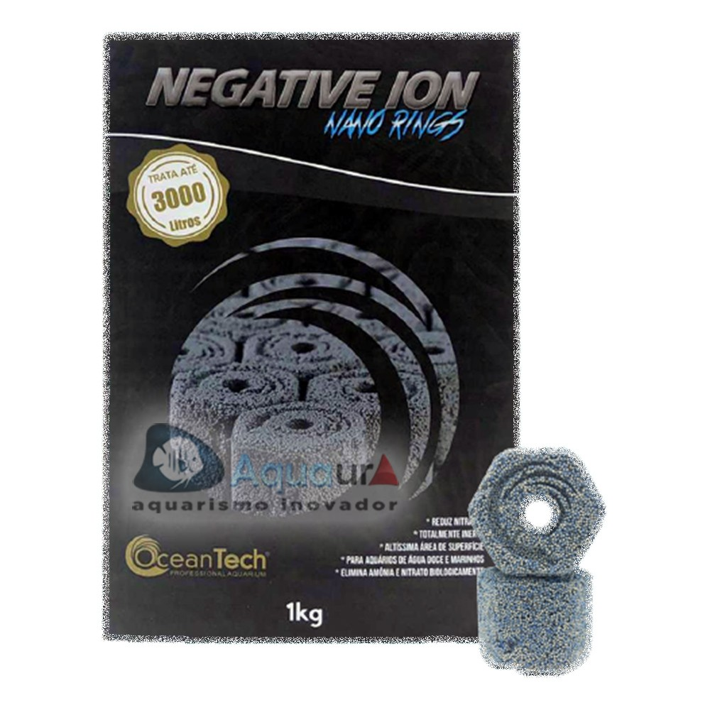 NEGATIVE IONS NANO RINGS OCEAN TECH - 1kg