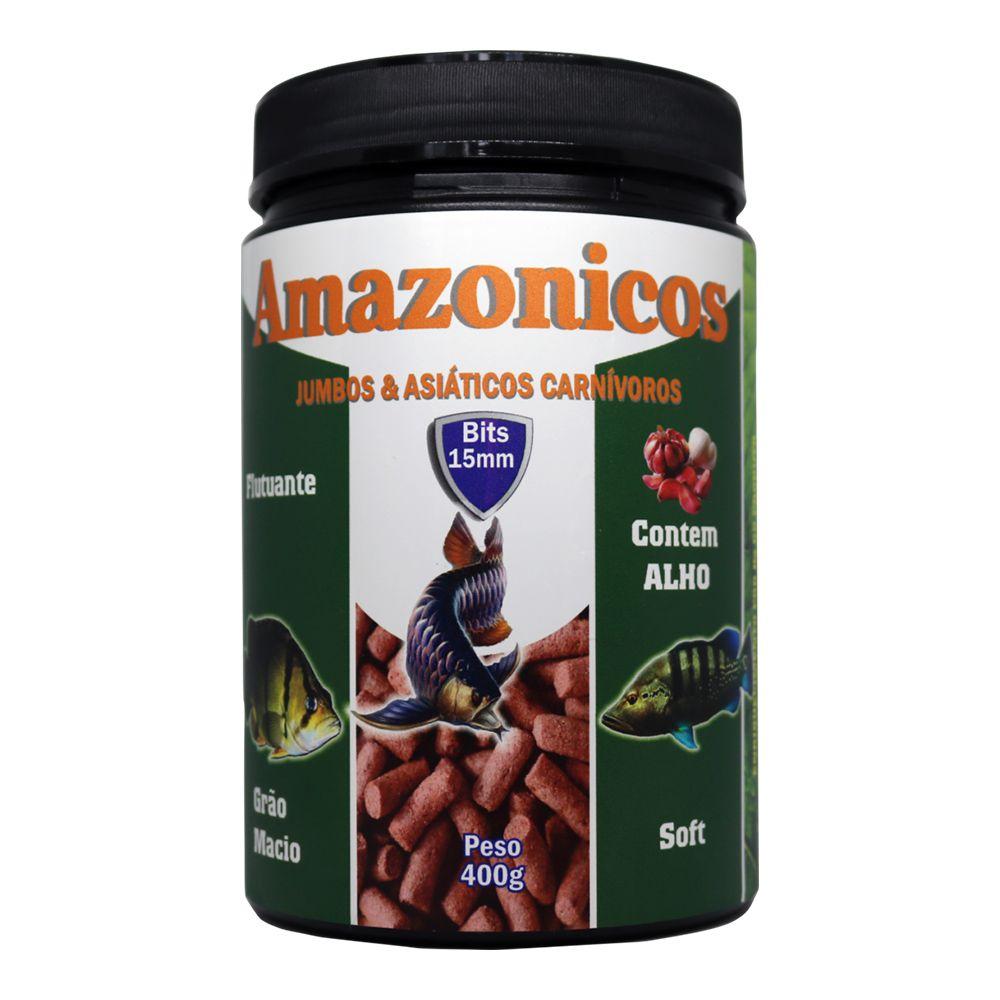 RAÇÃO MARAMAR AMAZONICOS SOFT - Pote 400 gr