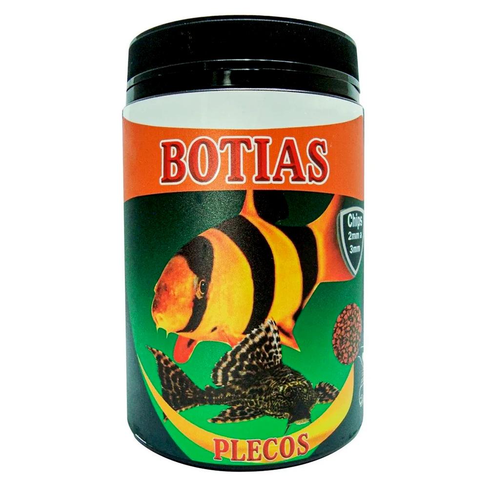 RAÇÃO MARAMAR BOTIAS & PLECOS - Pote 125 gr