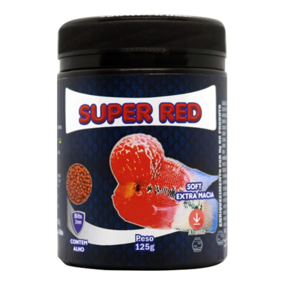 RAÇÃO MARAMAR FORTCOLLOR SUPER RED SOFT - Pote 125 Gr