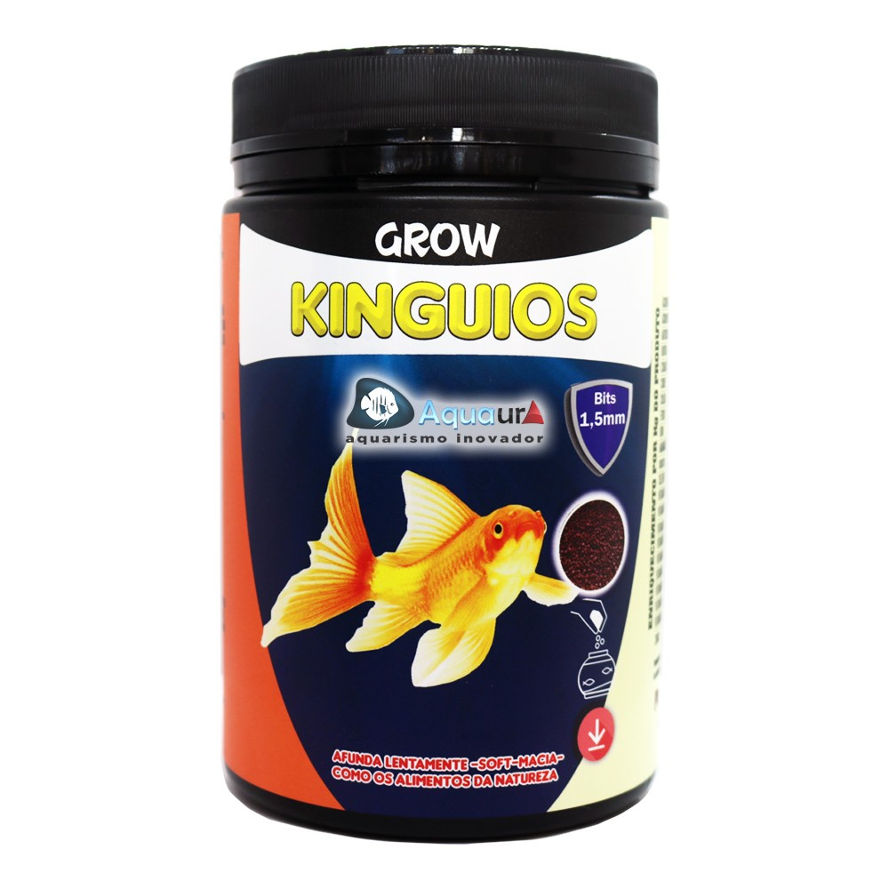 RAÇÃO MARAMAR KINGUIOS GROW SOFT - Pote 400 gr
