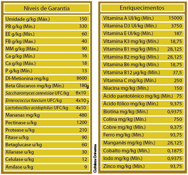 RAÇÃO POYTARA CICLÍDEOS ONÍVOROS - Pote 100 gr