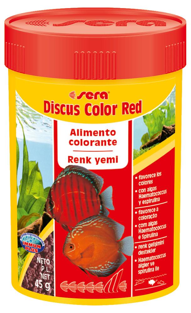 RAÇÃO SERA DISCUS COLOR RED - Pote 48 gr