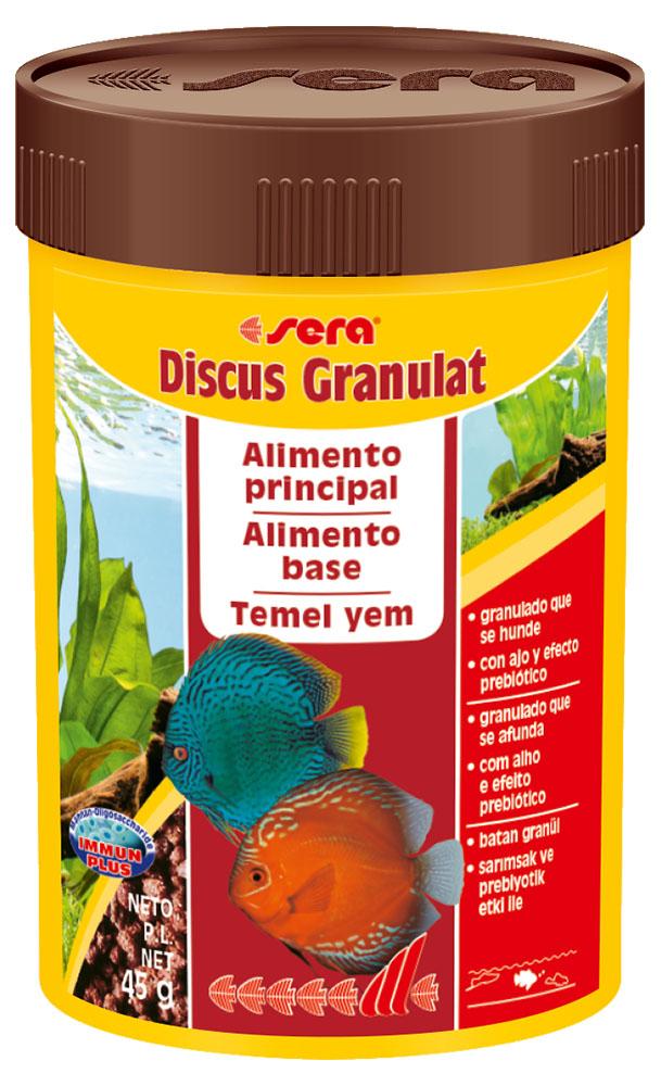 RAÇÃO SERA DISCUS GRANULAT - Pote 48 gr