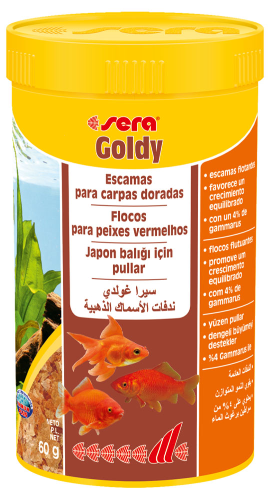 RAÇÃO SERA GOLDY - Pote 60 gr