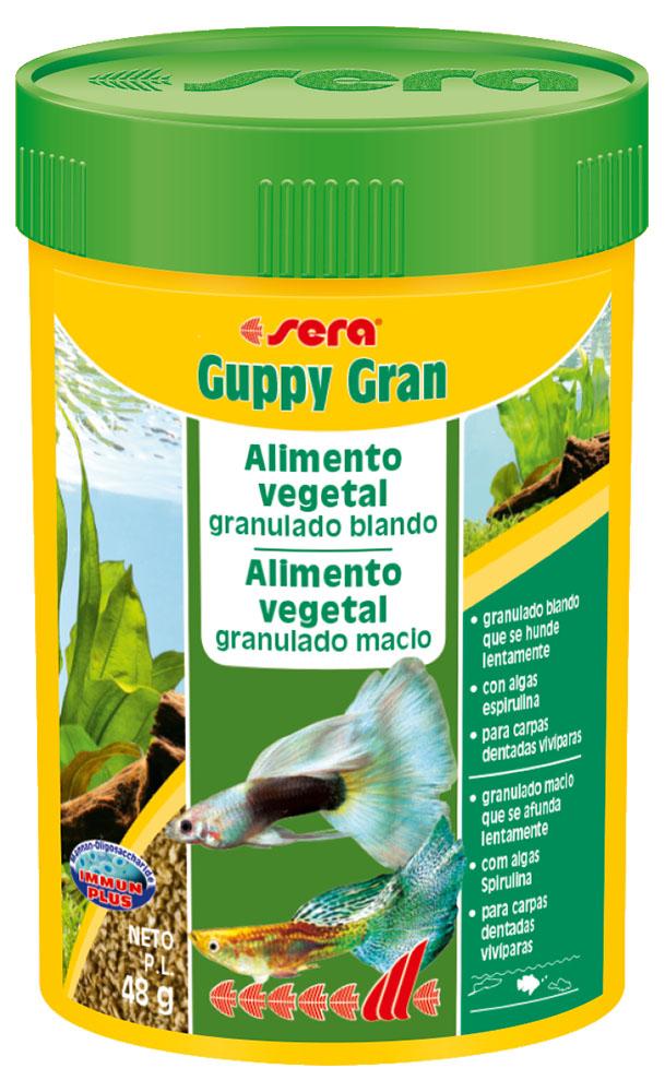RAÇÃO SERA GUPPY GRAN - Pote 48 gr