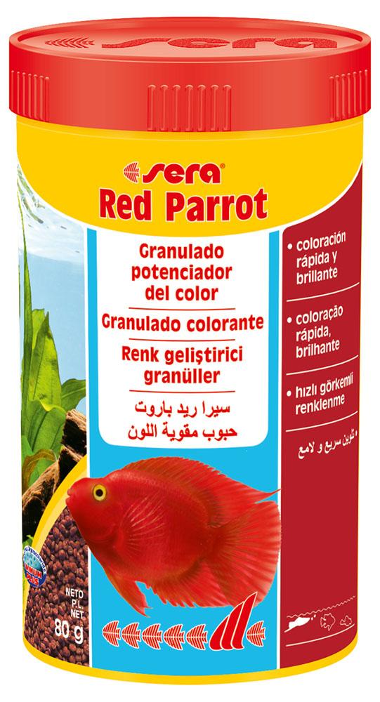 RAÇÃO SERA RED PARROT - Pote 80 gr