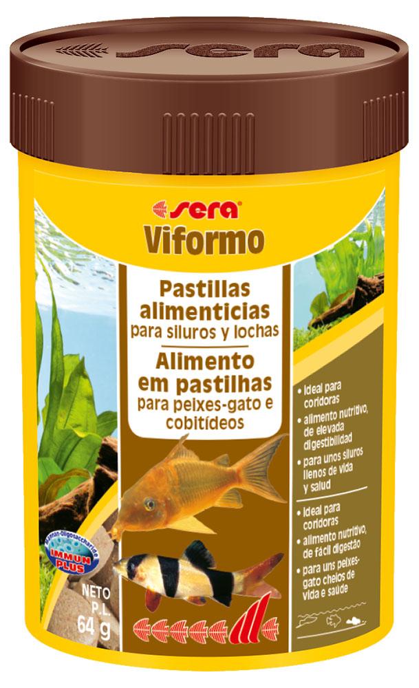 RAÇÃO SERA VIFORMO - Pote 68 gr