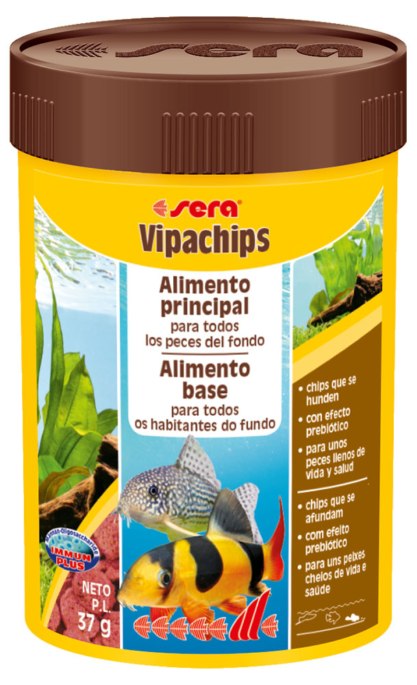 RAÇÃO SERA VIPACHIPS - Pote 37 gr
