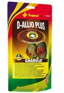 RAÇÃO TROPICAL D-ALLIO PLUS GRANULAT - Doypack 80 gr