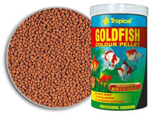 RAÇÃO TROPICAL GOLDFISH COLOUR PELLET - Pote 300 gr + bônus 20% = 360 gr
